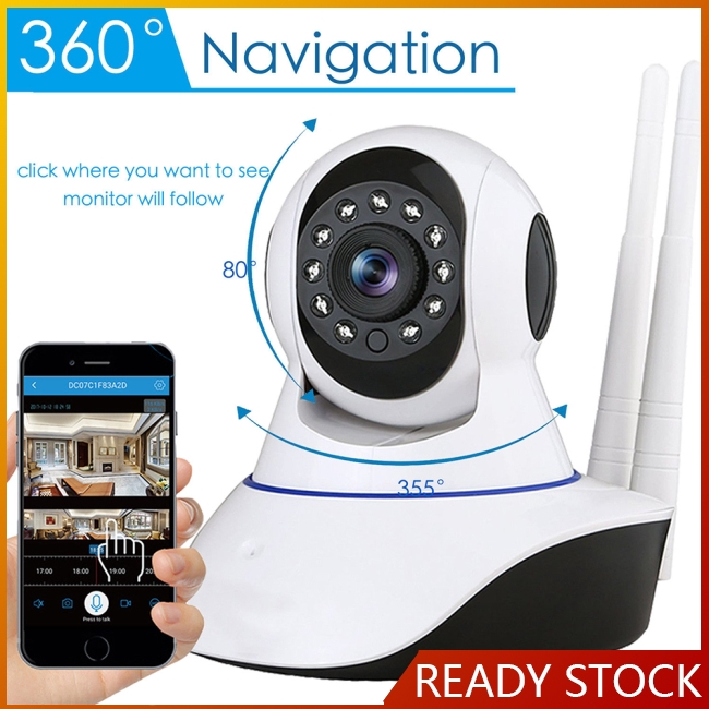 Wireless 1080P IP Security Camera Infrared Night Vision Digital Micro Cam Network CCTV WiFi Webcam Giá chỉ 313.140₫