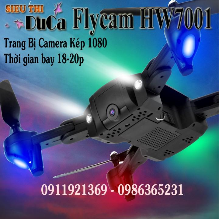 Flycam HW9001 Trang Bị Camera Kép 1080 Bay 18-20p