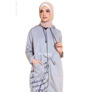 Áo Khoác Hoodie Màu Đen Phong Cách Hồi Giáo Cho Nữ T0G520