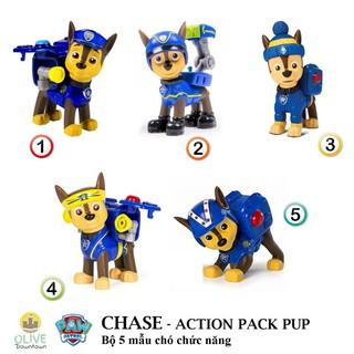 Bộ 5 mẫu khác nhau Chó cảnh sát Chase mang balo chức năng