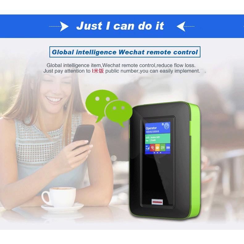 Bộ phát Wifi 4G di động tốc độ cao 150Mbps pin khủng 5200mAh phát wifi 10 thiết bị [THANH LÝ GIÁ RẺ] Giá chỉ 790.000₫