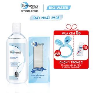 [Tặng Bông tẩy trang mềm mịn] Nước tẩy trang ẩm mượt mịn màng Bio-Water Bio-Essence Water Micellar Water 400ml