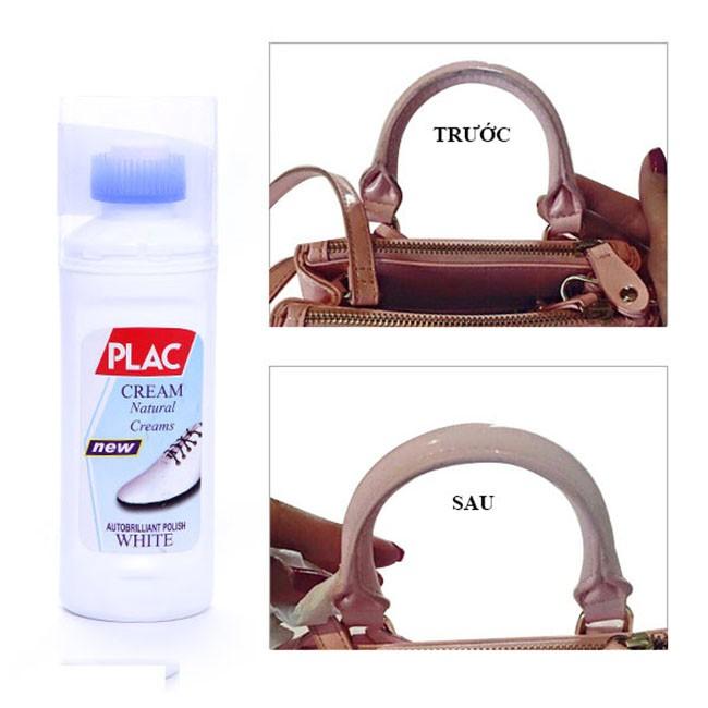 Combo 3 Chai nước tẩy trắng giày dép túi xách Plac (75ml) - 3146263 , 964057561 , 322_964057561 , 30000 , Combo-3-Chai-nuoc-tay-trang-giay-dep-tui-xach-Plac-75ml-322_964057561 , shopee.vn , Combo 3 Chai nước tẩy trắng giày dép túi xách Plac (75ml)