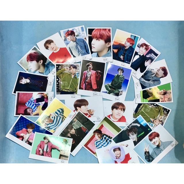 Combo 8 ảnh polaroid chữ ký JHOP BTS khổ 10x15 ngẫu nhiên