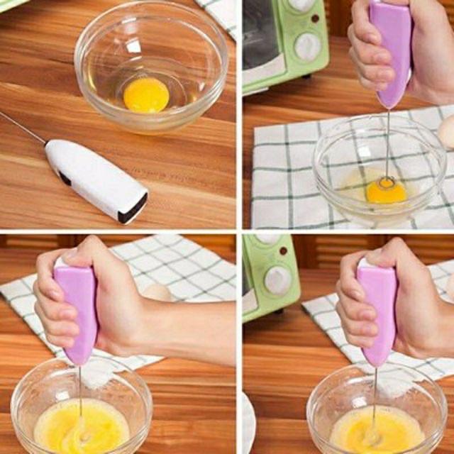Máy đánh trứng / đánh cafe cầm tay