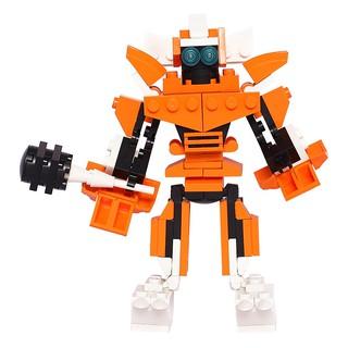 Đồ Chơi Lắp Ráp Chiến Binh Ratchet Lele Brother - Transformer Fighter 3in1 8273
