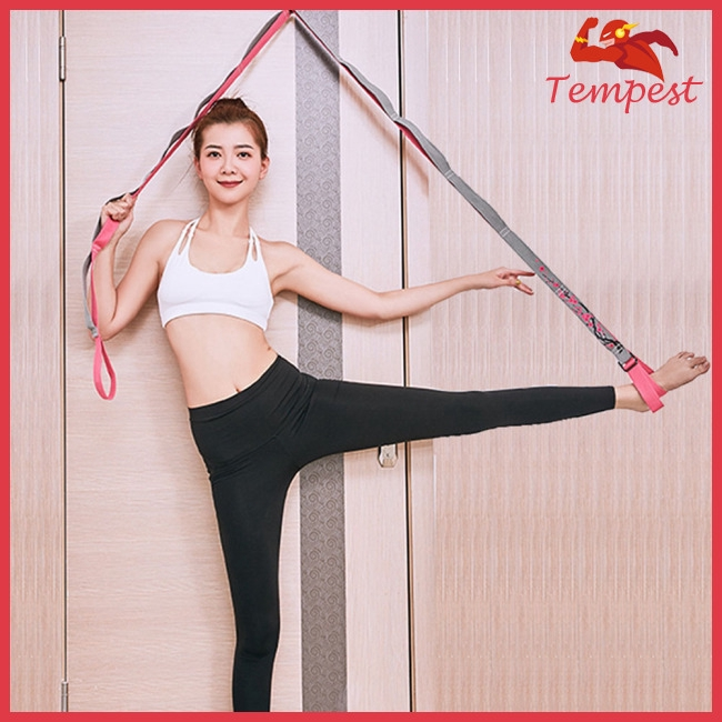 Yoga Elastic Banfd Stretching Muscle Band Stretching Adjustable Strap