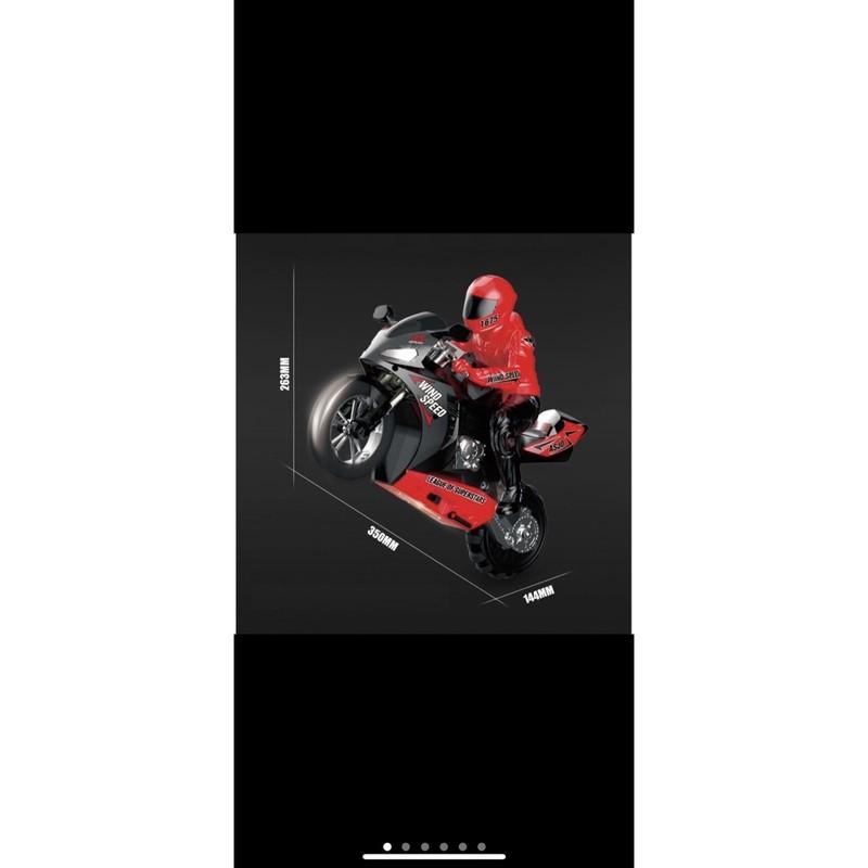 Xe Máy-Mô Tô Điều Khiển Từ Xa MT801 Bốc Đầu Gyro tự cân bằng 1:6 – 2.4Ghz