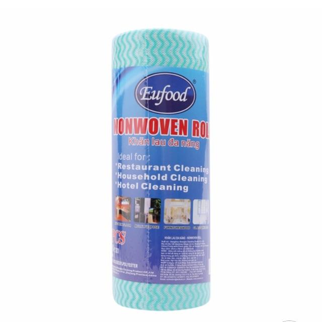 Cuộn 33 khăn lau đa năng EUFOOD 25cm*50cm