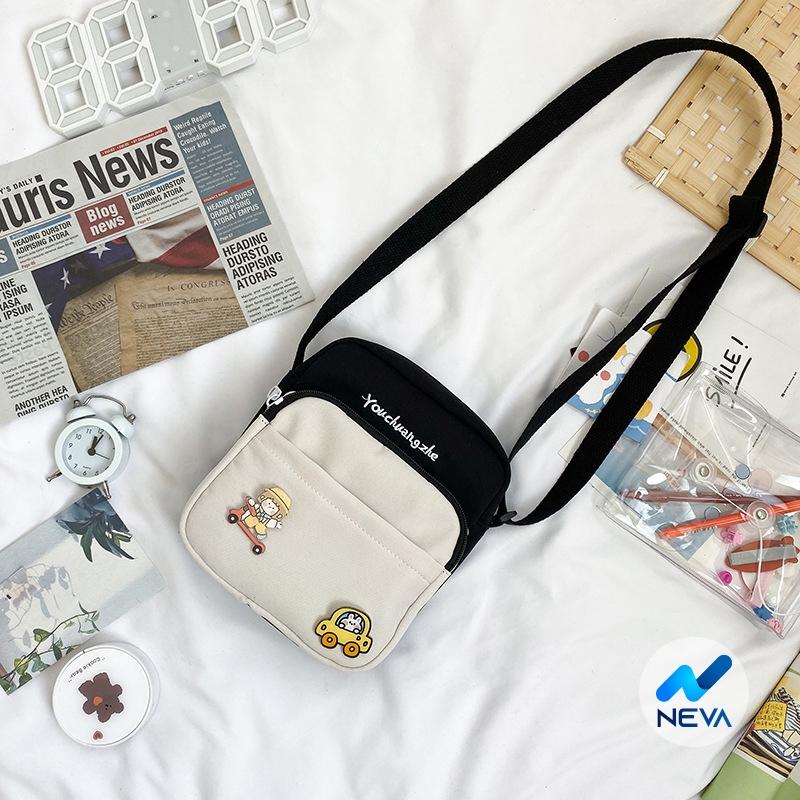 (ĐỘC) Túi vải Mini Chất Vải Canvas thời trang hàn quốc NE