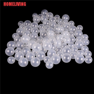 [HOMELIVING]50pcs/lot Baby Safety Transparent White Plastic Pool Ocean Balls Funny Toys