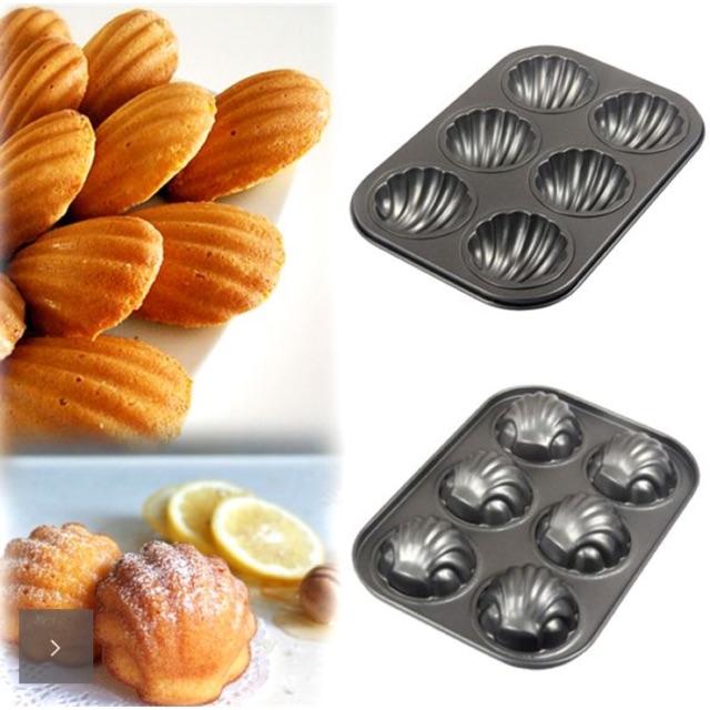 Khuôn nướng bánh vỏ sò chống dính cao cấp (hàng nhập khẩu Mỹ) - 14972511 , 823685595 , 322_823685595 , 150000 , Khuon-nuong-banh-vo-so-chong-dinh-cao-cap-hang-nhap-khau-My-322_823685595 , shopee.vn , Khuôn nướng bánh vỏ sò chống dính cao cấp (hàng nhập khẩu Mỹ)