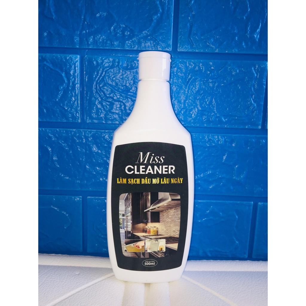 Lọ Miss Cleaner  làm sạch hút mùi và lưới lọc máy hút mùi với toàn bộ dầu mỡ bám bẩn khu bếp