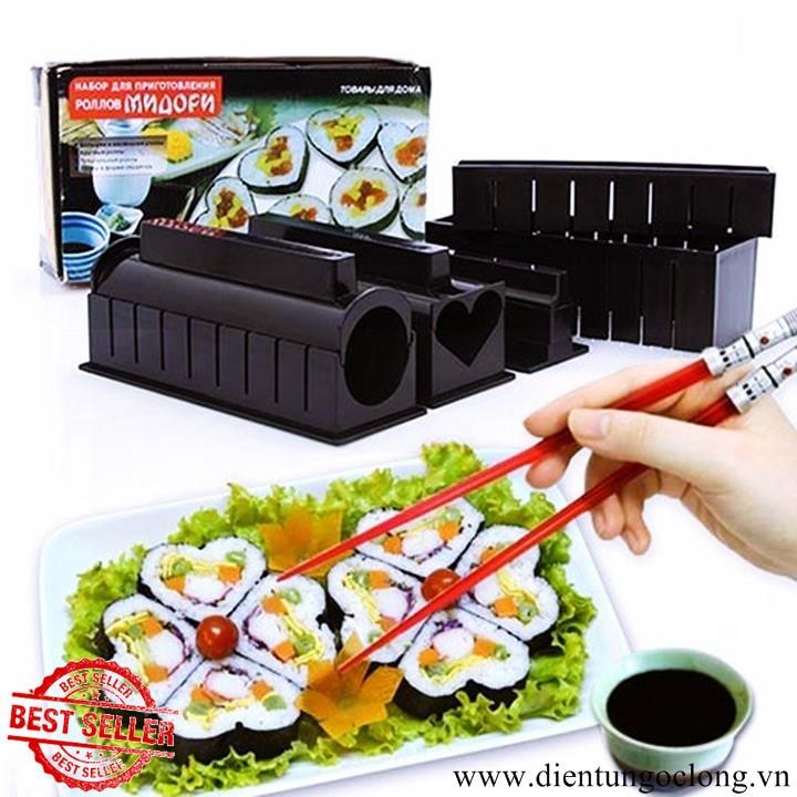 Bộ Dụng Cụ Sushi Cao Cấp 11 Món