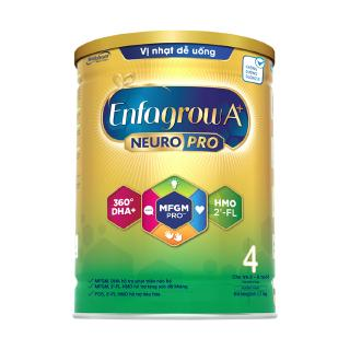 Hình ảnh [Mã FMCGMALL - 8% đơn 250K] Sữa bột Enfagrow A+ Neuropro 4 Vị thanh mát với dưỡng chất DHA & MFGM – 1.7kg-1
