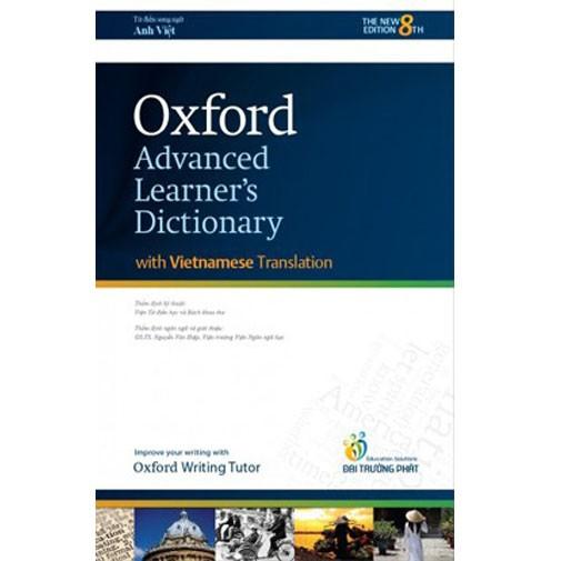 Sách - Từ điển Anh Anh Việt OXFORD (Bản đẹp) 12 - 495k