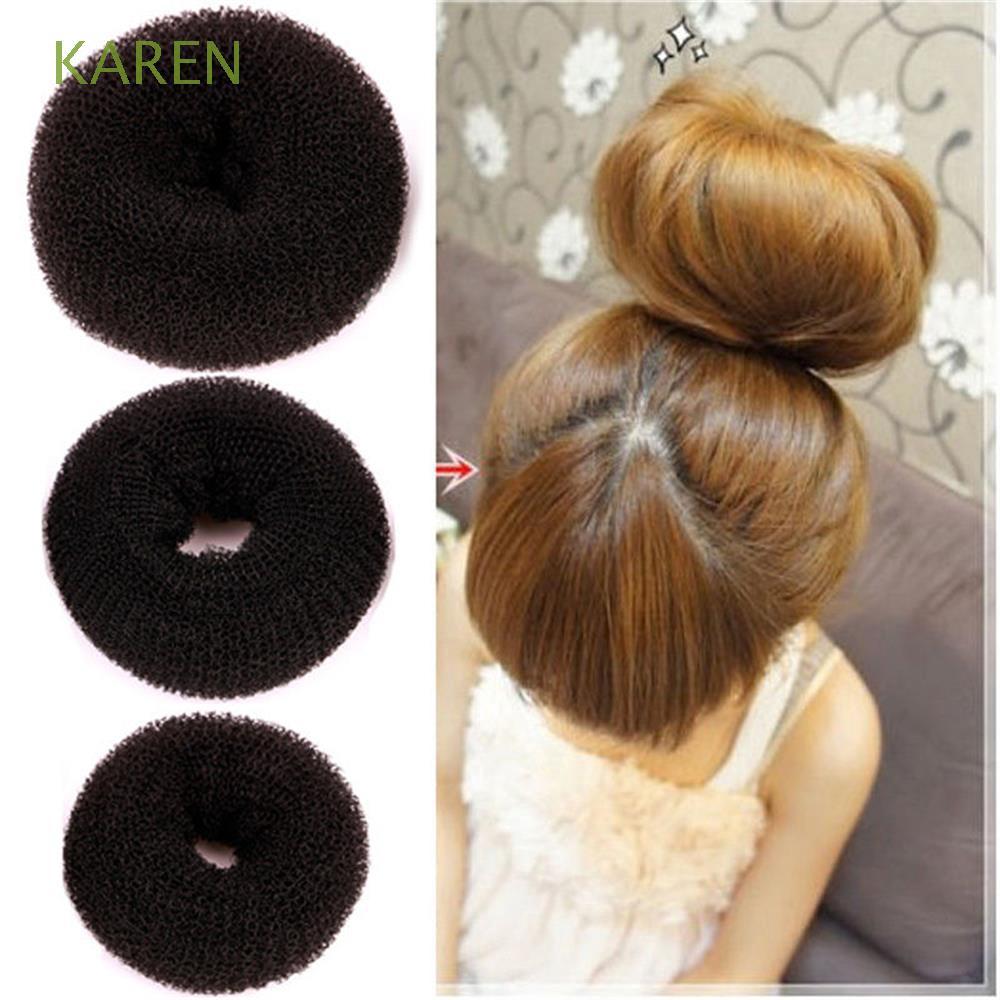 Set 3 cột tóc chất liệu co giãn thời trang xinh xắn cho nữ