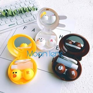 Khay thú cute đựng lens hình (gấu, thỏ, vịt) - Moon lens thumbnail