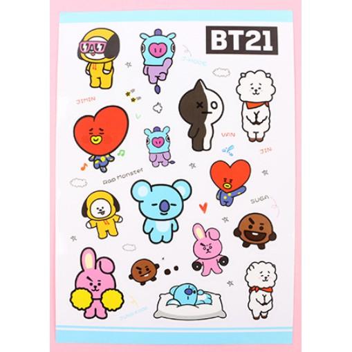 Sticker dán, hình dán BTS,BT21,EXO,WANNAONE,TWICE - 3151170 , 969317711 , 322_969317711 , 15000 , Sticker-dan-hinh-dan-BTSBT21EXOWANNAONETWICE-322_969317711 , shopee.vn , Sticker dán, hình dán BTS,BT21,EXO,WANNAONE,TWICE