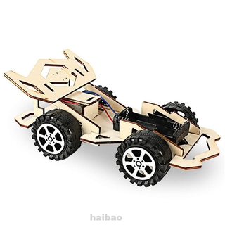 Developmental Educational Racing Car Scientific Wooden Model Kit
