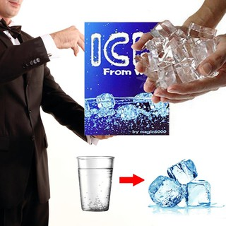 Magic Prop Tricks Gimmick Magician Performance Ice From Water Silicone Recycle