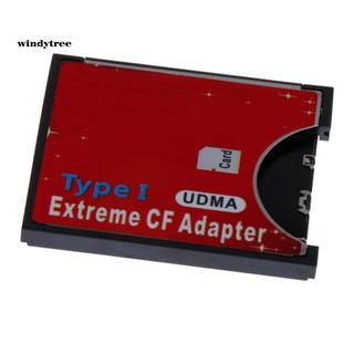 Bộ chuyển đổi đầu đọc thẻ nhớ SD SD SDXC sang CF WiFi Type I Flash cho máy ảnh SLR