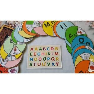 Đồ chơi vòng xoay chữ cái