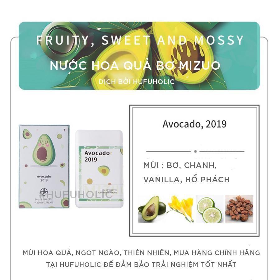 MIZUO – Nước hoa bỏ túi hương đào matcha mini dupe Jo Malone Bloom Anna Sui Atelier