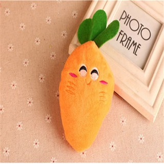 Puppy Popular Dog Carrot Chew Toys Plush Sound Squeaky