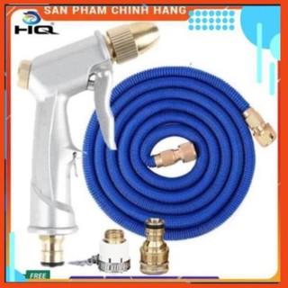 Vòi phun nước rửa xe tưới cây tăng áp thông minh giãn nở khi sử dụng 701709
