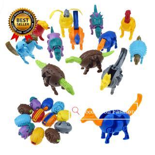 Toys For Children Surprise Eggs Dinosaur Toys Model Deformed Dinosaur Egg Christmas Gifts For Children