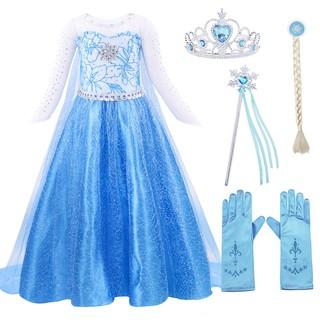 Aisha công chúa váy Giáng sinh lãng mạn váy dài nữ hoàng váy cô gái mùa thu váy dài sinh nhật món quà bất ngờ
