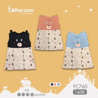 Váy ba lỗ - Gấu (Trơn - Họa tiết) FC760 thumbnail