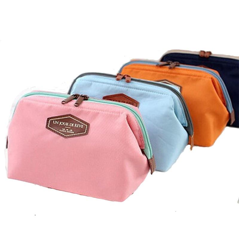 Túi đựng mỹ phẩm 4 màu tùy chọn tiện gọn khi đi du lịch