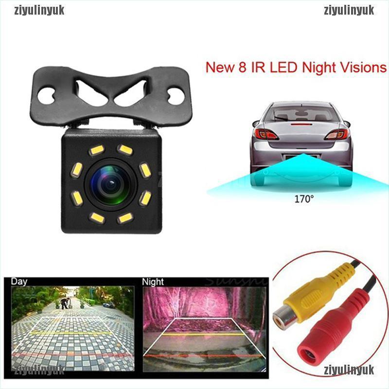 Camera quan sát phía sau xe hơi hỗ trợ lùi xe với 8 bóng đèn LED IR thông dụng dùng vào ban đêm