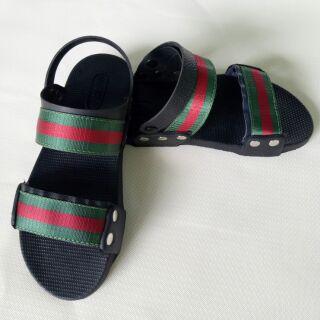Sandal phối Gucci