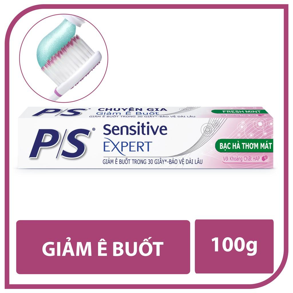 Kem đánh răng chuyên gia giảm ê buốt P/S chăm sóc chuyên sâu 100G (67580701)