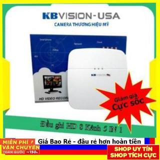 Đầu ghi 8 cổng 5 in 1 kbvision kx-7108td6_Chính hãng