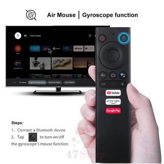 Điều khiển chuột bay tìm kiếm giọng nói Remote Mouse Air Voice Bluetooth Mecool KM1, KM9 Pro, KM3, KM6