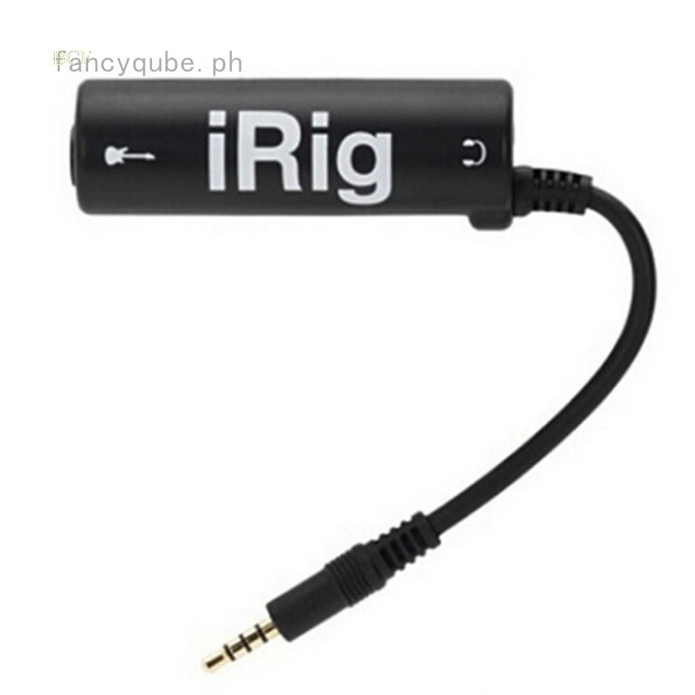 Dây Cáp Đa Phương Tiện Irig Ik Cho Iphone / Ipod Touch / Ipad