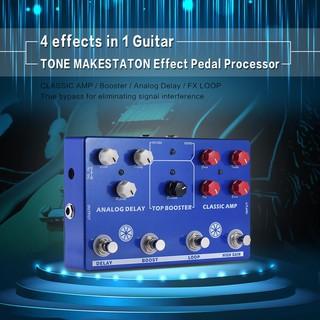 yohi2018 Multi-effects Guitar TONE MAKESTATON Effect Pedal Processor CLASSIC AMP