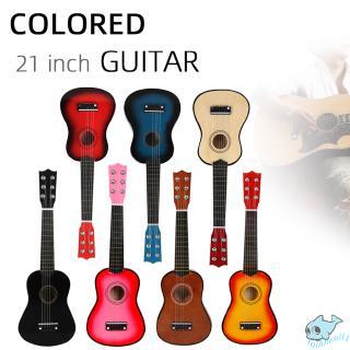 21 inch Ukulele Beginner Hawaii 6 String Guitar Ukelele for Children Kids