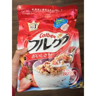 Ngũ cốc Calbee Nhật Bản 600gr – 800gr