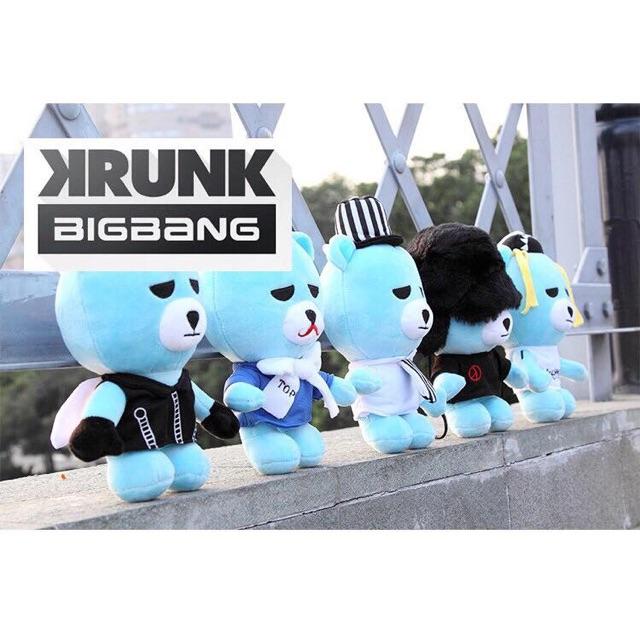 Gấu doll KRUNK BIGBANG