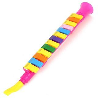 ABS Plastic Horn Design 13 Keys harmonica Random Color