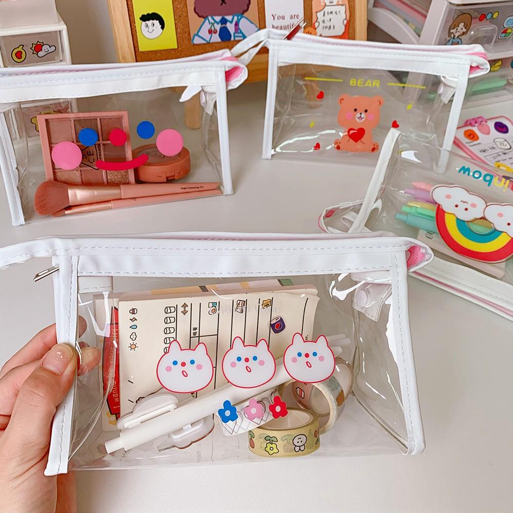 Túi Makeup - Hộp Bút Trong Suốt Phong Cách Nhật Bản, M1 - BeYou