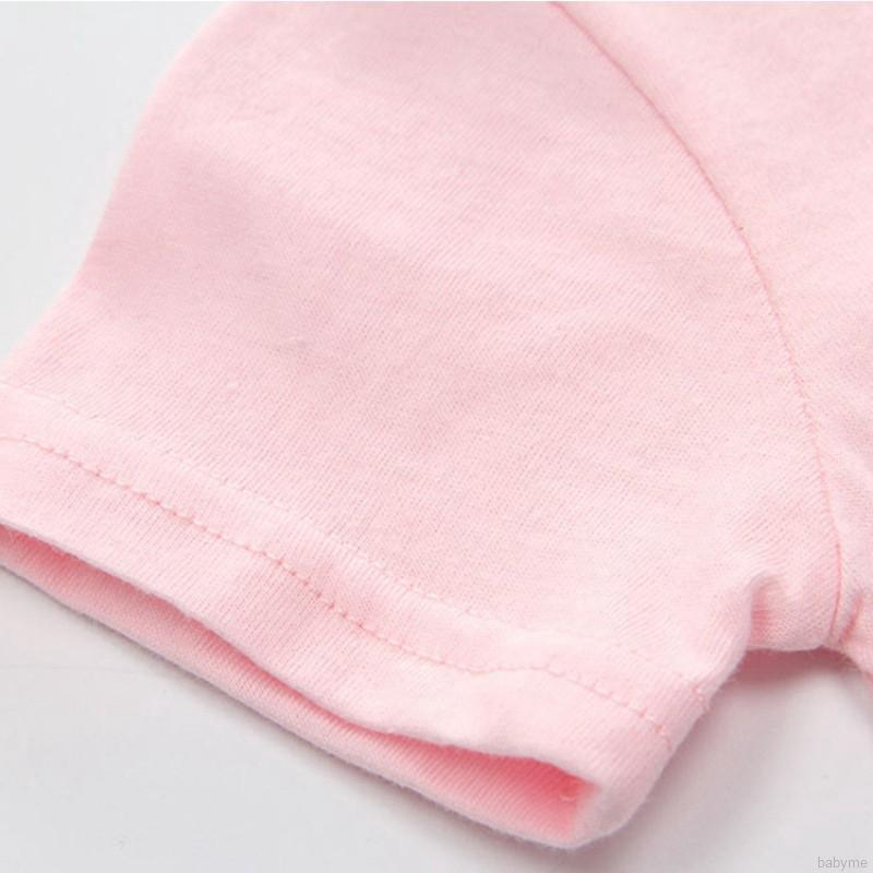 Bộ Áo Liền Quần Bằng Vải Cotton Ngắn Tay Cho Bé
