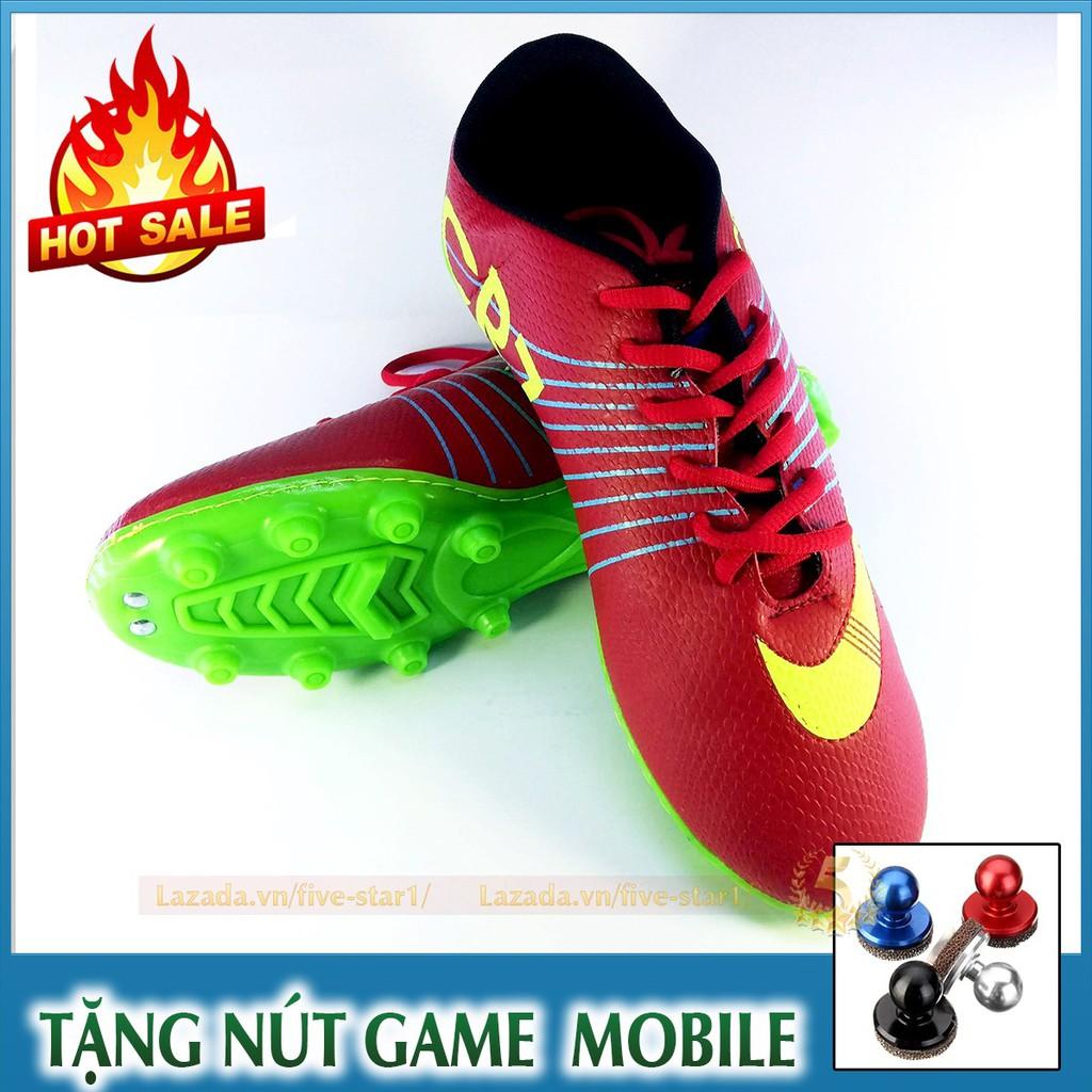 Giày bóng đá thể thao CR7 cho nam: Bền đẹp + Tặng nút game Joystick - 2906034 , 1208118377 , 322_1208118377 , 219000 , Giay-bong-da-the-thao-CR7-cho-nam-Ben-dep-Tang-nut-game-Joystick-322_1208118377 , shopee.vn , Giày bóng đá thể thao CR7 cho nam: Bền đẹp + Tặng nút game Joystick