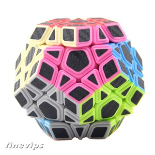 Dodecahedron Magic Cube Puzzle Speed Brain Teaser Children Educational Toy