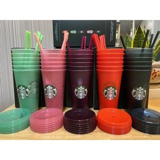 Ly nhựa Starbuck Noel Reusable lấp lánh 2020